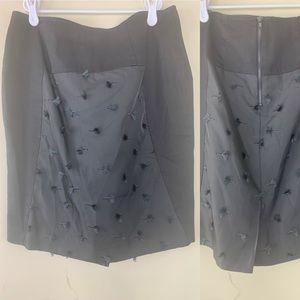 Sachin + Babi Black Tassel Skirt, 4